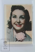Old Trading Card/ Chromo Cinema/ Movie Topic - Actress: Nancy Kelly - Chocolat