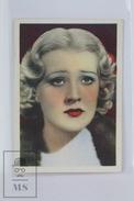 Old Trading Card/ Chromo Cinema/ Movie Topic - Actress: Margot Grahame - Otros