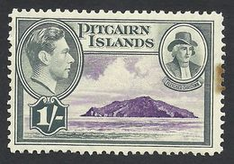 Pitcairn Islands, 1 S. 1940, Sc # 7, Mi # 9, MH. - Stamps