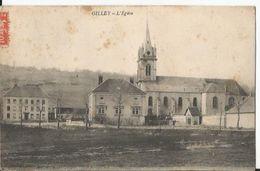 CPA  -  Gilley - L' Eglise - Sonstige Gemeinden