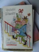 Humor Postcard Man On Stairs - Humor