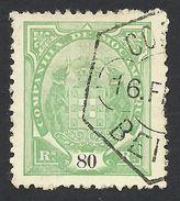 Mozambique Company, 80 R. 1895, Sc # 25, Mi # 19B, Used, Beira - Mozambique