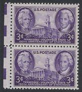 United States,  3 C. 1946, Sc # 941, Mi # 546, MNH Pair - United States