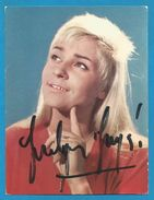 (A773) - Signature / Dédicace / Autographe Original - Jocelyne JOCYA - Auteur, Compositeur, Interprète - Autographes