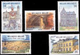 Belgium 2410/14** Tourisme  MNH - Neufs