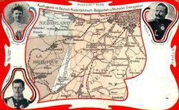 Ausflugsorte Im Deutsch-Niederländisch-Belgishen-u.Neutralen Grenzgebiet - Vierländerpunkt Vaals Aachen Gemmenich Neutra - La Calamine - Kelmis