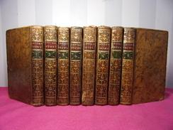 LETTRES JUIVES Ou Correspondance Philosophique Marquis D'Agens 8/8 Vols 1777 - Bücher, Zeitschriften, Comics