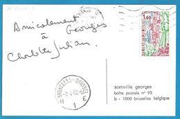 (A779) - Signature / Dédicace / Autographe Original - Charlotte JULIAN - Chanteuse - Autographes