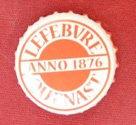 Hopus Lefebvre Quenast - Brasserie Lefebvre / Belgique (parfait état - Pas De Trace De Décapsuleur) Beer - Cerveza - Bir - Cerveza