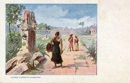 CAMBODGE(PUBLICITE MOKA AU DOS) - Kambodscha