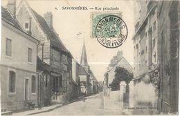 Savonnières - Rue Principale - Other Municipalities