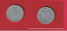 50 Reichspfennig 1939 A  --  état  TB+ - [ 4] 1933-1945 : Third Reich
