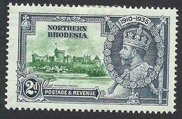 Northern Rhodesia, 2 P. 1935, Sc # 19, Mi # 19, MH - Rhodésie Du Nord (...-1963)