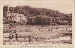 Savonnières - L'Eglise - Le Moulin Vu De La Plage - Other Municipalities