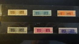TRIESTE A 1947 I   PACCHI Postali  Serietta     Nuovi Illinguellati Perfetti  Mnh ** - Paketmarken/Konzessionen