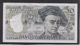 France 50 Francs Quentin De La Tour - 1982 - Fayette N° 67-8 - TTB - 50 F 1976-1992 ''Quentin De La Tour''