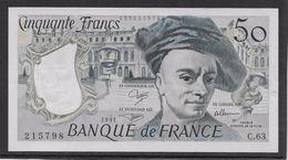France 50 Francs Quentin De La Tour - 1991 - Fayette N° 67-17 - SPL - 1962-1997 ''Francs''