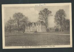 Chateau De Fournils ( Dordogne ) Face Est   - Obe2896 - Otros Municipios