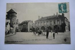 CPA 12 AVEYRON ESPALION. Le Palais De Justice. 1909. - Espalion