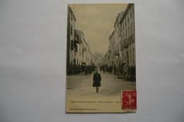 CPA 12 AVEYRON SAINT GEORGES DE LUZANCON. Saint Georges De Luzançon. Rue Principale. 1908. - France