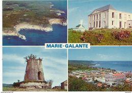 GUADELOUPE : MARIE-GALANTE : Falaises - Château Murat - Moulin - Capesterre - Guadeloupe