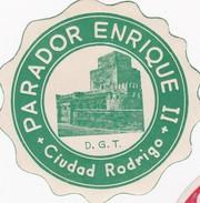 SPAIN ESPAÑA  -  HOTEL LUGAGGE  LABEL - HOTEL PARADOR ENRIQUE II - CIUDAD RODRIGO - Etiketten Van Hotels