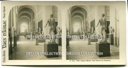 FOTOGRAFIA STEREOSCOPICA INTERNO DEL MUSEO NAPOLI - Stereoscopi