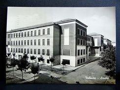 (FG.A20) VALENZA - LE SCUOLE (ALESSANDRIA) Scuola - VIAGGIATA 1956 - Alessandria