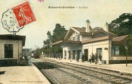 77  OZOUER LA FERRIERE  LA GARE ANIMEE - France