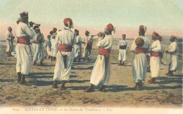 Algerie, Scenes Et Types, La Noubla De Tirailleurs - Algerije