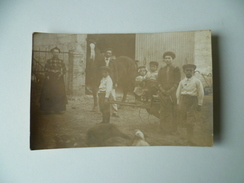 CARTE PHOTO PERSONNAGE CHEVAL - Personnes Anonymes
