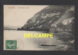 DF / 01 AIN / NANTUA / UN COIN DU LAC / CIRCULÉE EN 1911 - Nantua