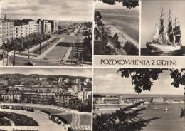 Polen/Polska/Pologne – Gdynia/Gdingen - Zwart-wit/black-white- Gebruikt/used - Zie Scan - Polen