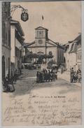 La Sarraz - L'Eglise, Animee - Photo: Jullien Freres - VD Vaud