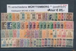 AD-Würtemberg Schönes ** LOT     (ze7546  ) Siehe Bild - Allemagne