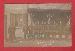 Senne -- Carte Photo - Soldats En Uniforme  1908 - Allemagne