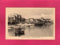 83 Var, La Seine-sur-Mer (Seyne), Un Coin Du Port, Animée, Barque Bateaux, (L. L.) - La Seyne-sur-Mer
