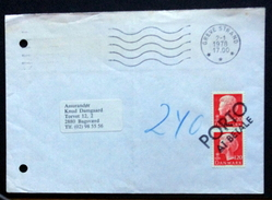 Denmark 1978 Letter Greve Strand  PORTO AT BETALE     ( Lot 1482 ) - Danimarca