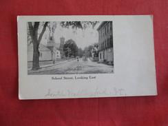 School Street South Wallingford VT. Vermont >-ref 2754 - United States