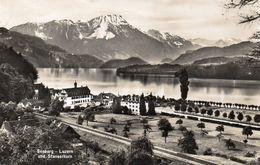 CPSM SEEBURG - LUZERN UND STANSERHORN - LU Lucerne