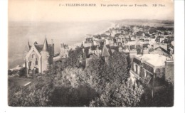Villers-sur-Mer (Trouville- Calvados)-+/-1910-Vue Générale Prise Sur Trouville-Villas-Villa Beau-Site à Gauche - Villers Sur Mer