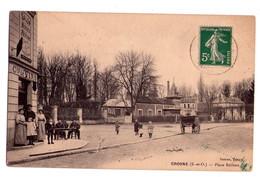 D120 - CROSNES S&O - Danton-tabac Place Boileau - Burat Photo , 40 Rue De Paris à Villeneuve-Saint-George - Crosnes (Crosne)