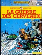 Jacques Armand - Inspecteur Laflèche - La Guerre Des Cerveaux - PIF / La Farandole - ( E.O. 1987 ) . - Bücher, Zeitschriften, Comics
