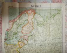 Carte Taride De La Russie - Échelle 1 / 4 000 000 - Geographical Maps