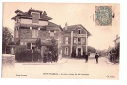 D121 - Montgeron - Carrefour De La Garenne - Simili Bromure - Col. Pagny ( Imprimerie Photo à Choisy Le Roi - Montgeron