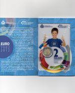2 EURO COMMEMORATIVE 10 Ans Des Pièces Et Billets Euros - San Marino