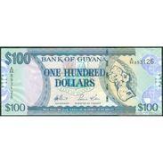 TWN - GUYANA 36a - 100 Dollars 2006 Prefix A/96 - Signatures: Williams & Kowlessar UNC - Guyana