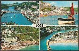 Multiview, Looe, Cornwall, C.1970 - Postcard - England