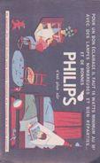 "BUVARD ""PHILIPS"" - Buvards, Protège-cahiers Illustrés"