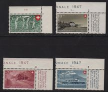 Suisse - N°437 à 440 - Fete Nationale 1947 - Cote 15€ - Suisse